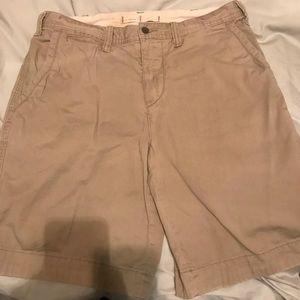 Men's khaki shorts